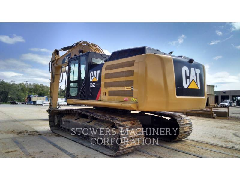 CATERPILLAR TRACK EXCAVATORS 336EL HAM equipment  photo 4