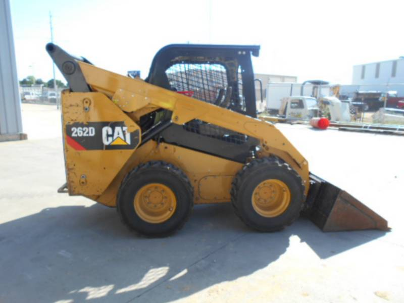 CATERPILLAR MINICARREGADEIRAS 262D equipment  photo 6