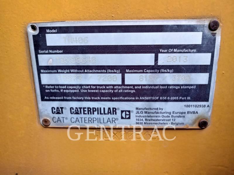 CATERPILLAR MOVIMENTATORI TELESCOPICI TH406 equipment  photo 1