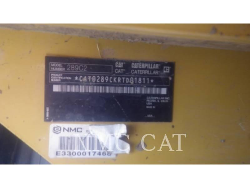 CATERPILLAR CARGADORES MULTITERRENO 289C2 equipment  photo 6