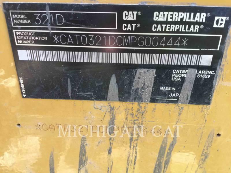 CATERPILLAR TRACK EXCAVATORS 321DLCR PQ equipment  photo 8