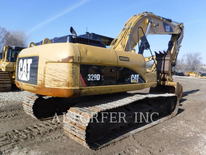 CATERPILLAR PELLES SUR CHAINES 329DL TH equipment  photo 6