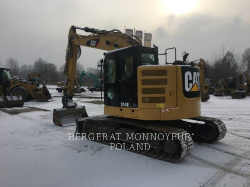 CATERPILLAR KETTEN-HYDRAULIKBAGGER 314ELCR equipment  photo 8