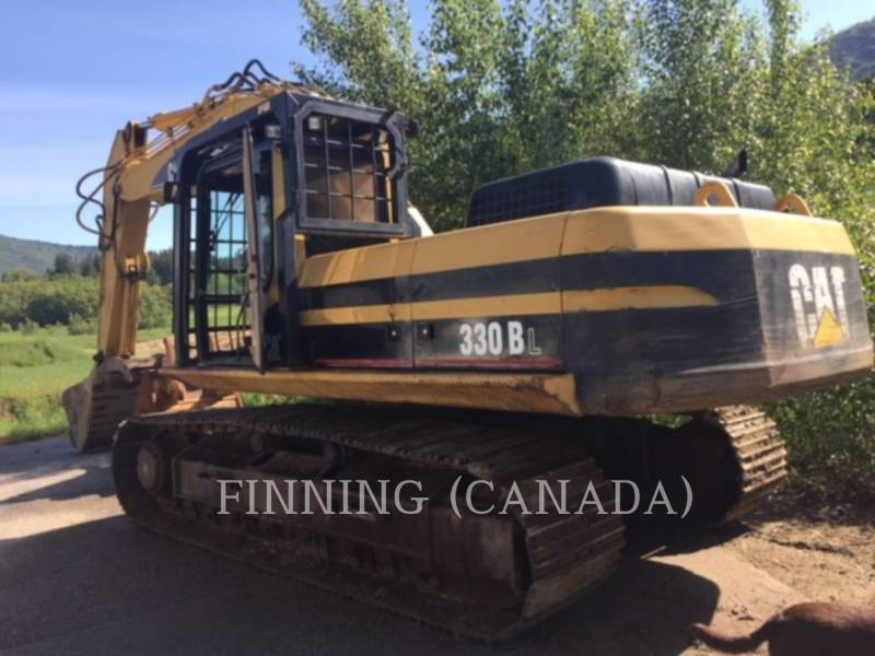 CATERPILLAR TRACK EXCAVATORS 330BL equipment  photo 4