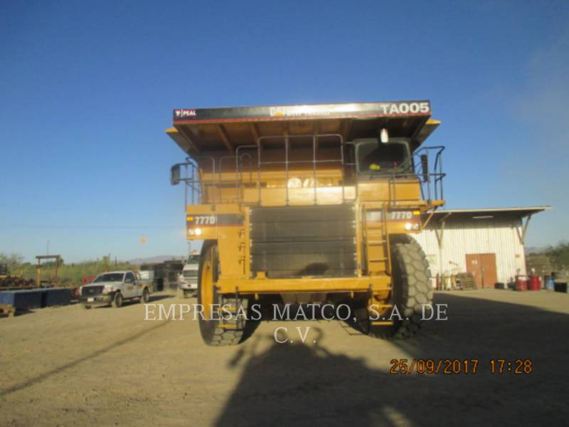 CATERPILLAR DUMPER A TELAIO RIGIDO DA MINIERA 777D equipment  photo 6