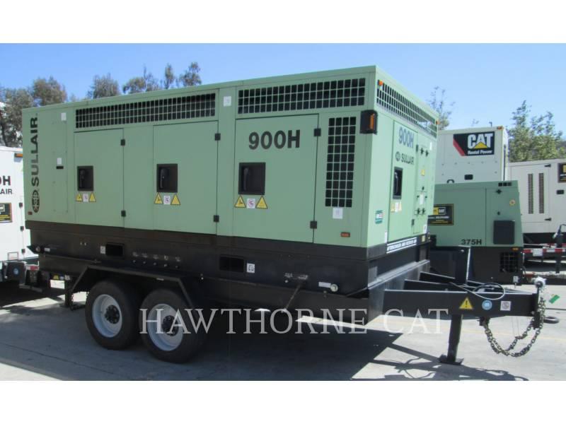 SULLAIR AIR COMPRESSOR 900 CH/AF/DTQ/CA4 equipment  photo 1