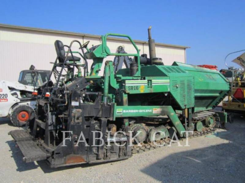 CATERPILLAR PAVIMENTADORA DE ASFALTO BG225C equipment  photo 1