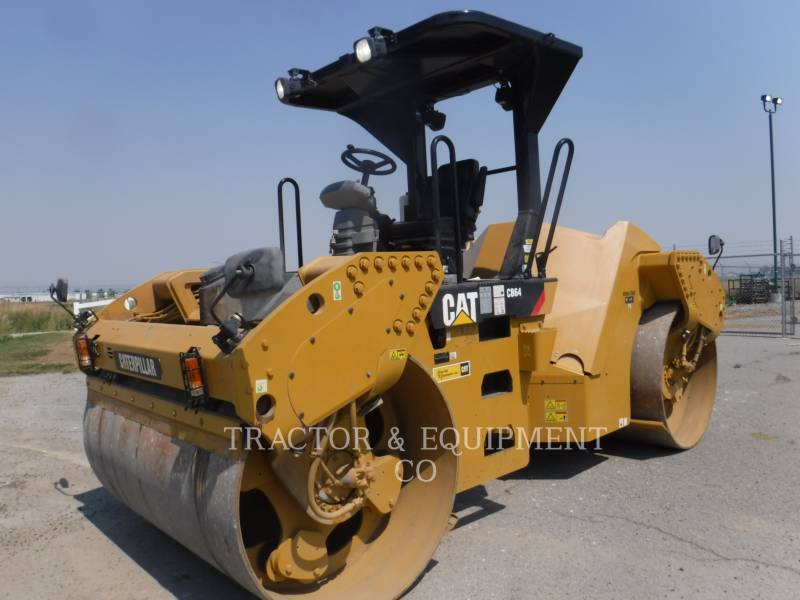 CATERPILLAR PAVIMENTADORA DE ASFALTO CB64 equipment  photo 1