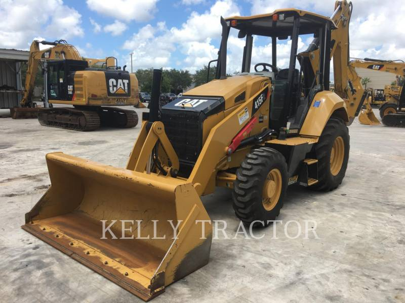 CATERPILLAR BAGGERLADER 415F2ST equipment  photo 1