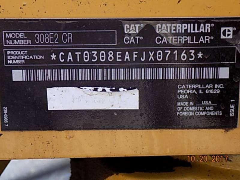 CATERPILLAR PELLES SUR CHAINES 308E2CRSB equipment  photo 18