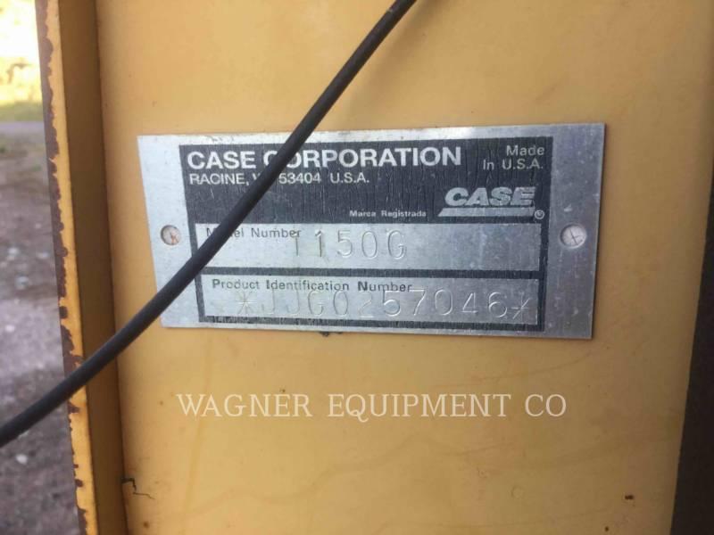 CASE TRACTOREN OP RUPSBANDEN 1150G equipment  photo 5