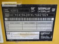 CATERPILLAR RETROESCAVADEIRAS 428F2LRC equipment  photo 9