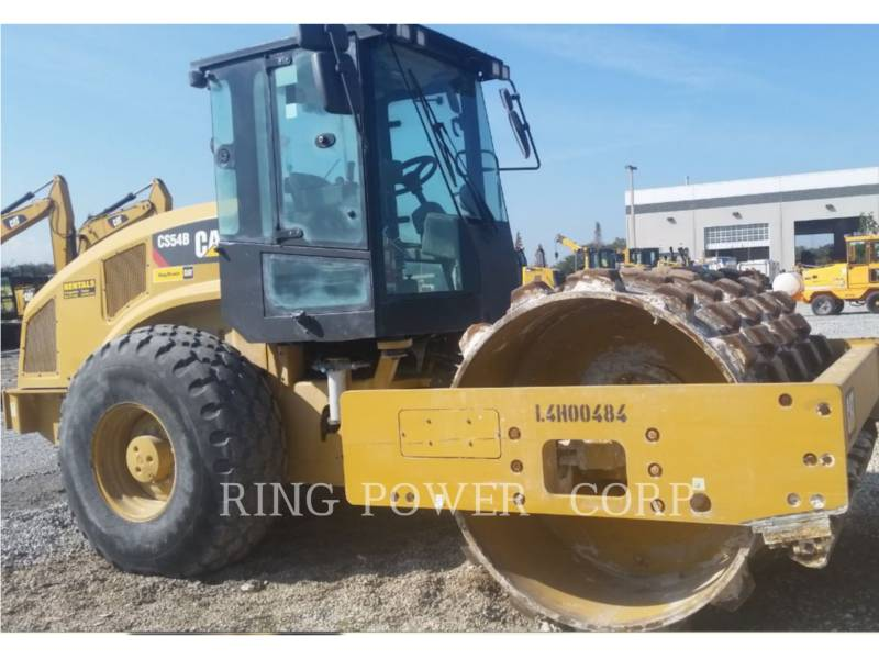 CATERPILLAR ROLO COMPACTADOR DE ASFALTO DUPLO TANDEM CS/P54BCAB equipment  photo 2