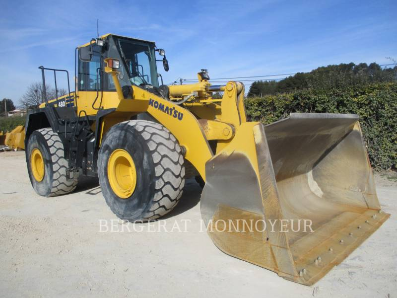KOMATSU CARGADORES DE RUEDAS WA480.6 equipment  photo 12