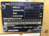 KOMATSU TRACK EXCAVATORS PC308USLC equipment  photo 5