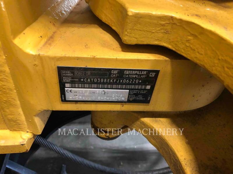 CATERPILLAR TRACK EXCAVATORS 308E2 equipment  photo 13