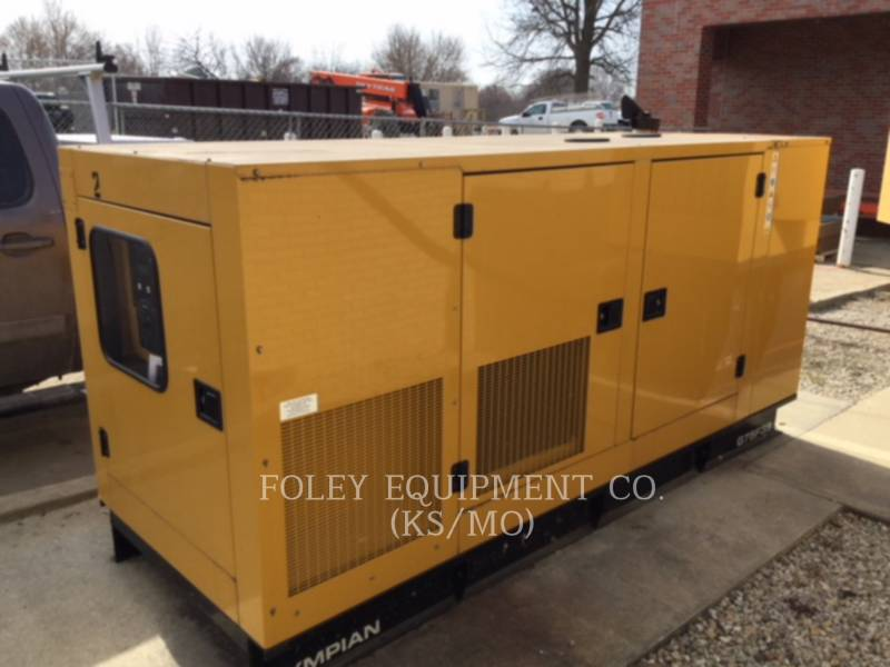 CATERPILLAR STATIONARY GENERATOR SETS G75F3SEP equipment  photo 1