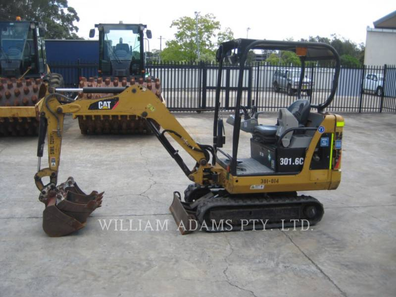 CATERPILLAR TRACK EXCAVATORS 301.6C equipment  photo 1