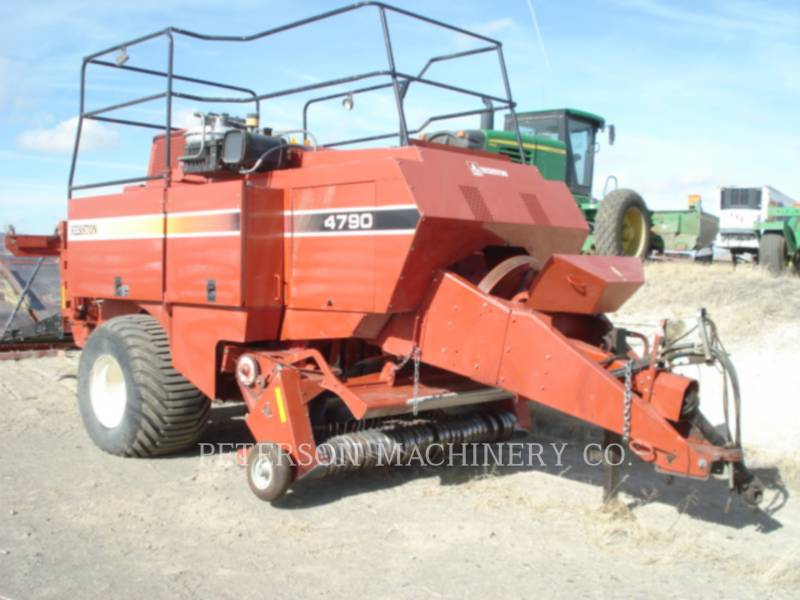 HESSTON CORP TRACTORES AGRÍCOLAS HT4790 equipment  photo 1