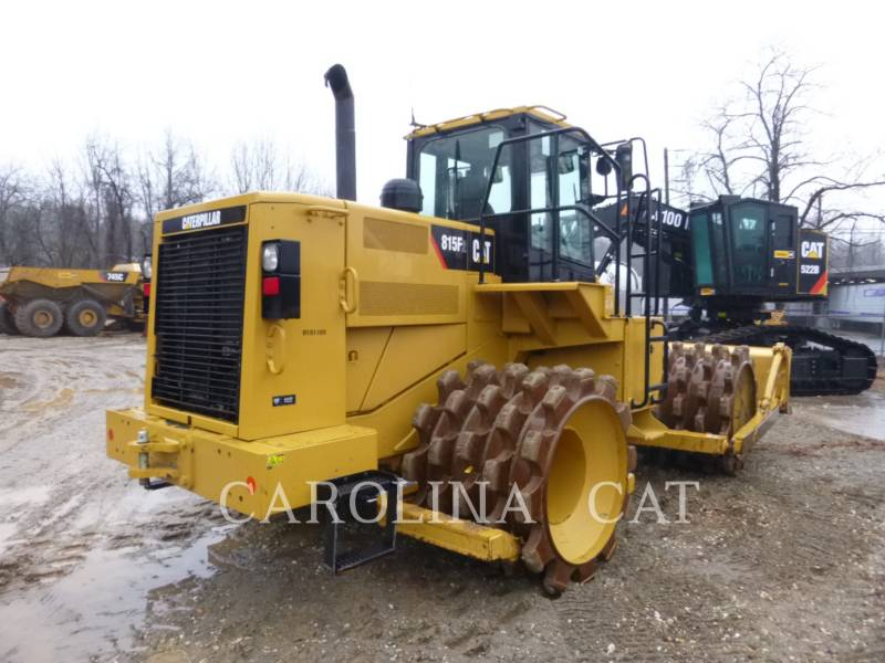 CATERPILLAR WT - УПЛОТНИТЕЛЬ 815F2 equipment  photo 4