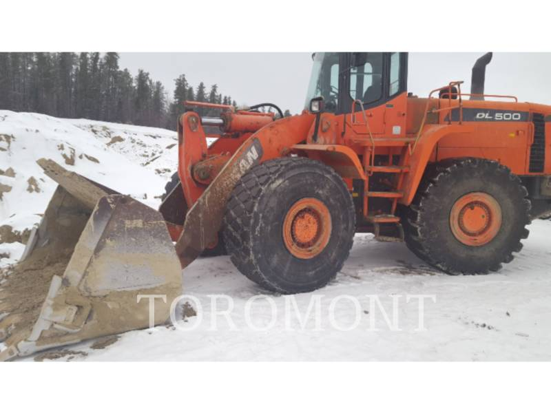 DOOSAN INFRACORE AMERICA CORP. WHEEL LOADERS/INTEGRATED TOOLCARRIERS DL500 equipment  photo 1