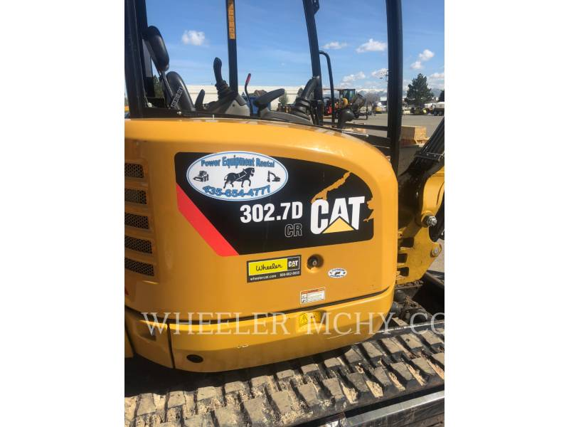 CATERPILLAR TRACK EXCAVATORS 302.7DC1TH equipment  photo 9