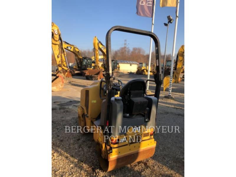 CATERPILLAR COMPACTEURS TANDEMS VIBRANTS CB14B equipment  photo 4