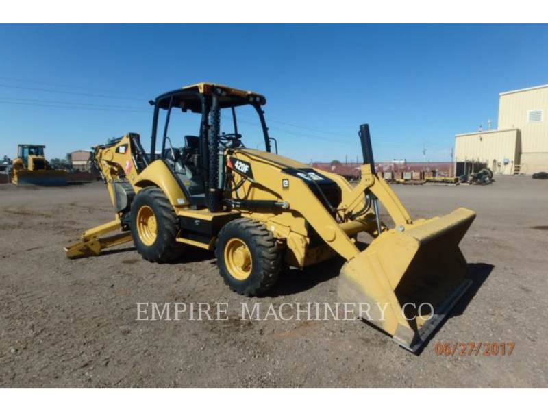 CATERPILLAR バックホーローダ 420F 4EO P equipment  photo 1