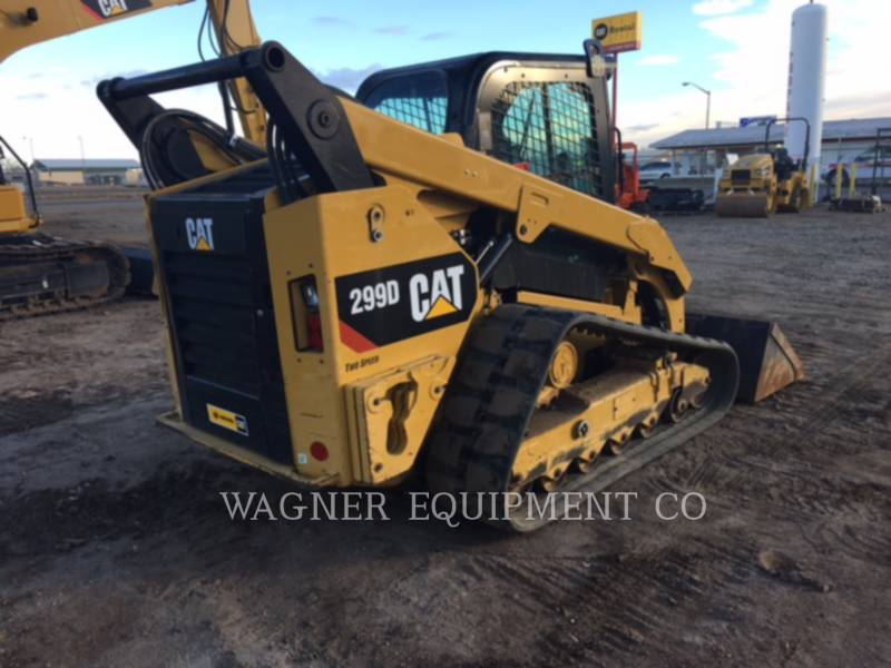 CATERPILLAR CHARGEURS COMPACTS RIGIDES 299D equipment  photo 3