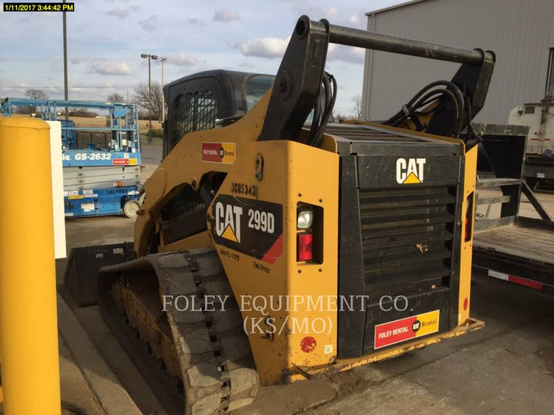 CATERPILLAR SKID STEER LOADERS 299DXPS2CA equipment  photo 4