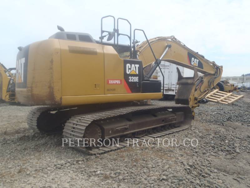 CATERPILLAR TRACK EXCAVATORS 320E equipment  photo 3