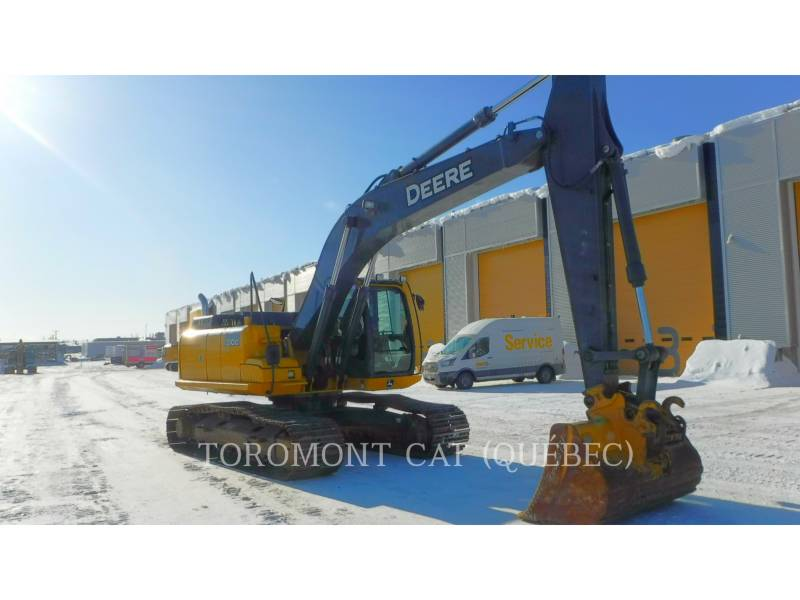 JOHN DEERE TRACK EXCAVATORS 210G equipment  photo 2