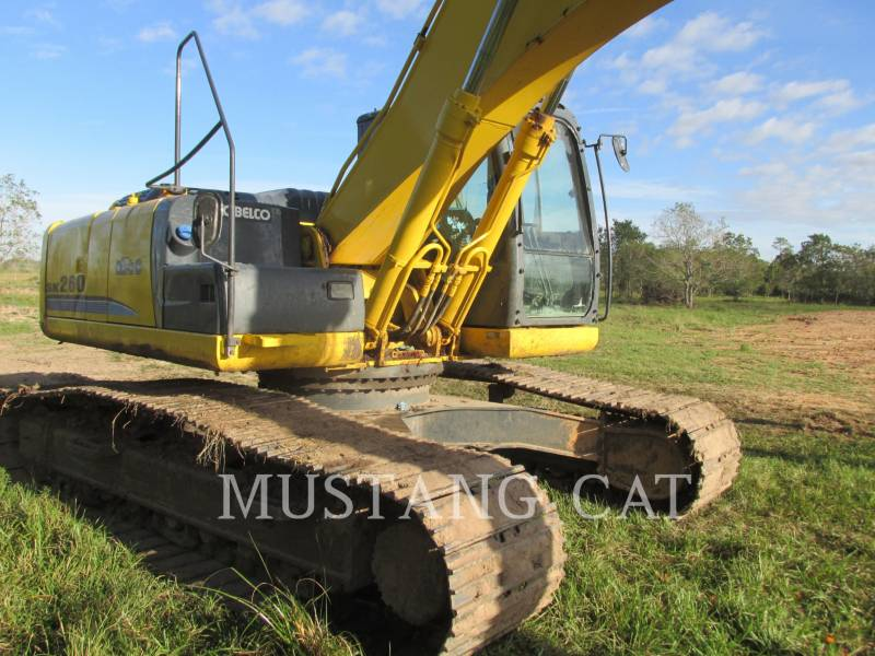 KOBELCO / KOBE STEEL LTD TRACK EXCAVATORS SK 260-9 equipment  photo 4