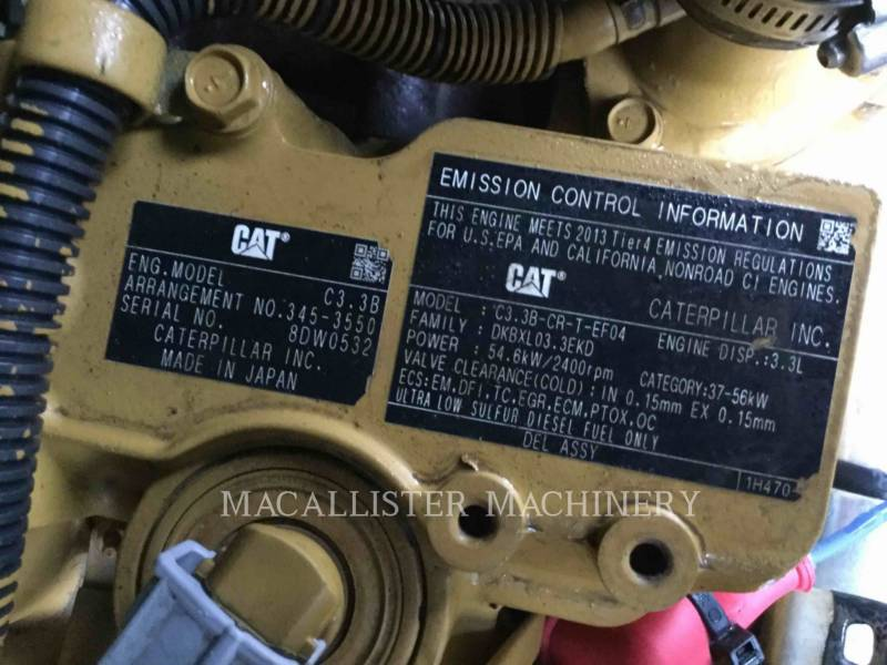 CATERPILLAR UNIWERSALNE ŁADOWARKI 289D equipment  photo 10