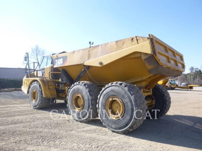 CATERPILLAR アーティキュレートトラック 740B WT equipment  photo 2