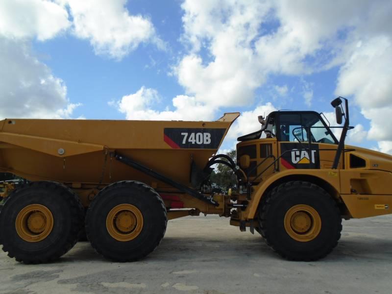 CATERPILLAR CAMINHÕES ARTICULADOS 740B equipment  photo 6