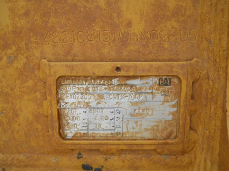 CATERPILLAR EXCAVADORAS DE CADENAS 349FL equipment  photo 22