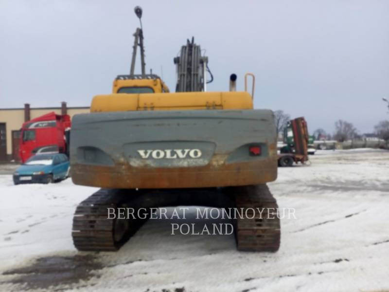 VOLVO KETTEN-HYDRAULIKBAGGER EC240B NLC equipment  photo 6