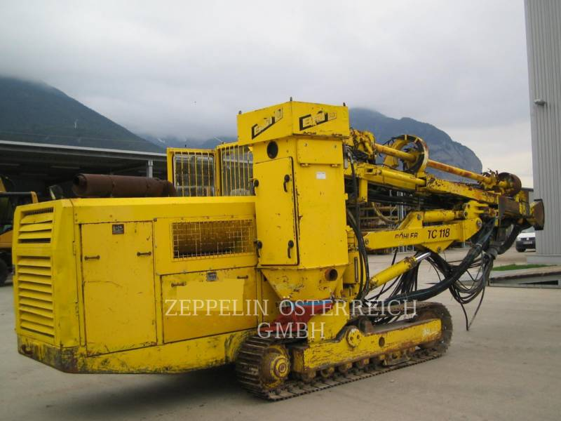 SANDVIK MINING & CONSTRUCTION PERFORADORAS TC118 equipment  photo 2