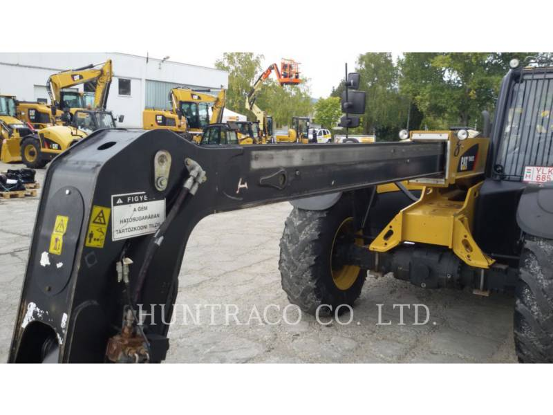CATERPILLAR TELEHANDLER TH407C equipment  photo 20