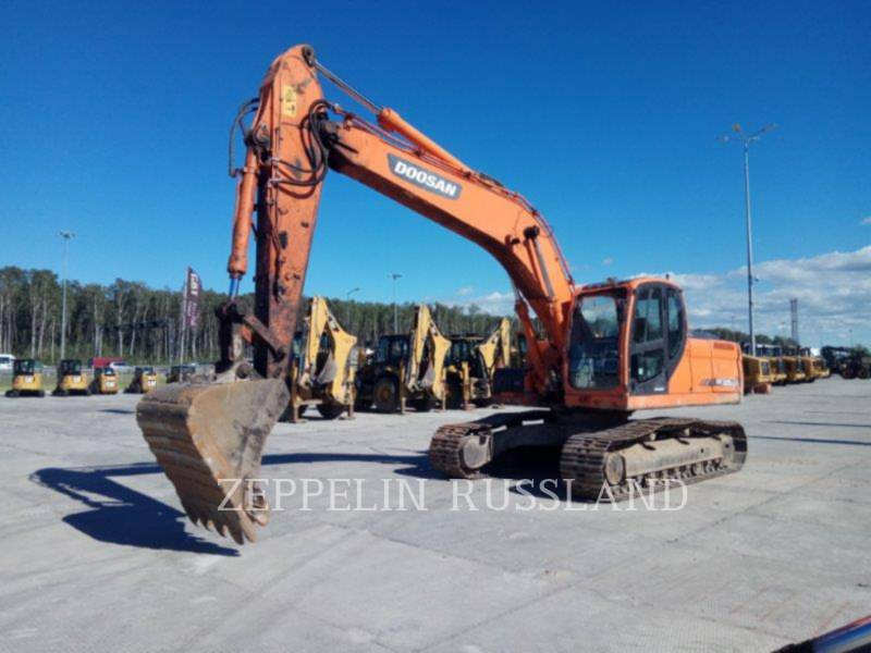 DOOSAN INFRACORE AMERICA CORP. TRACK EXCAVATORS DX225LCA equipment  photo 4