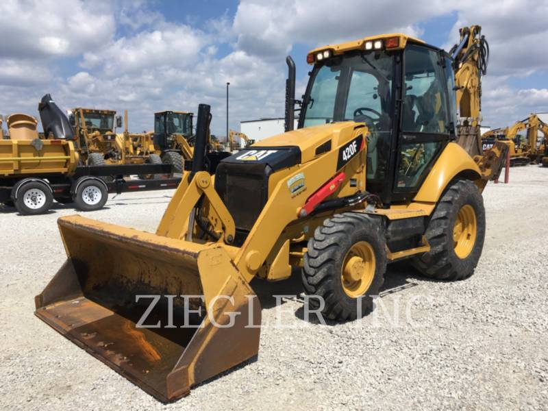 CATERPILLAR BAGGERLADER 420FH2 equipment  photo 3