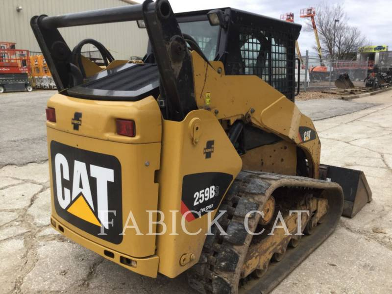CATERPILLAR CHARGEURS TOUT TERRAIN 259B3 C3 equipment  photo 3