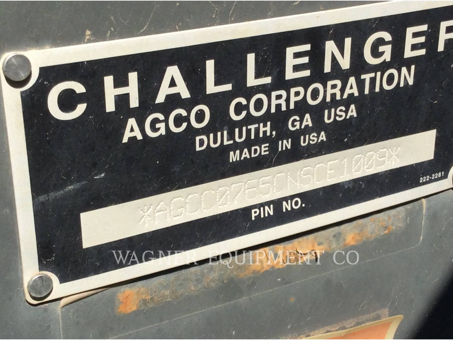 Detail photo of 2010 AGCO MT765B from Construction Equipment Guide