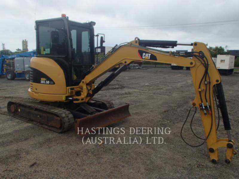 CATERPILLAR PELLES SUR CHAINES 303.5DCR equipment  photo 3
