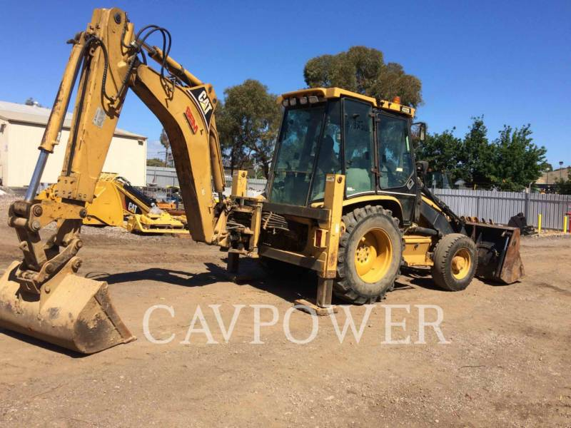 CATERPILLAR BAGGERLADER 432D equipment  photo 3