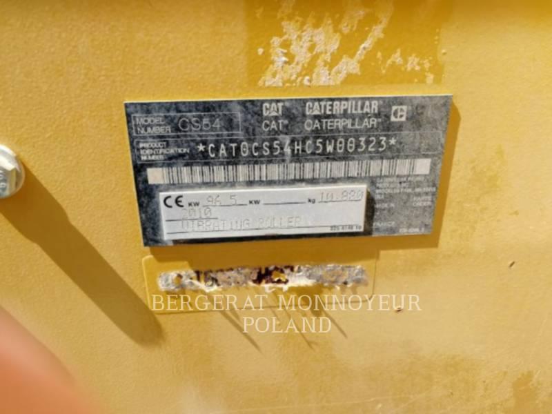 CATERPILLAR COMPACTADORES DE SUELOS CS54 equipment  photo 2