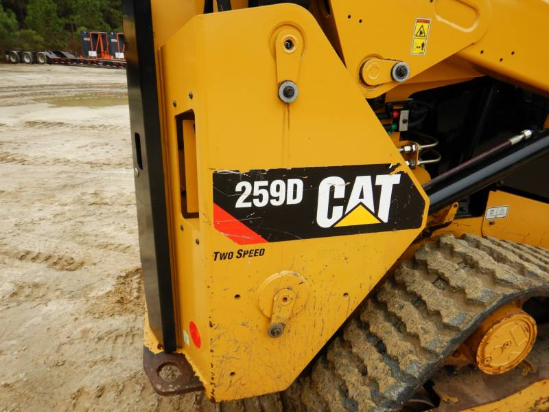 CATERPILLAR MULTI TERRAIN LOADERS 259D equipment  photo 22