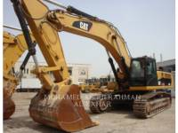 Equipment photo CATERPILLAR 345 D L (ME) KETTEN-HYDRAULIKBAGGER 1