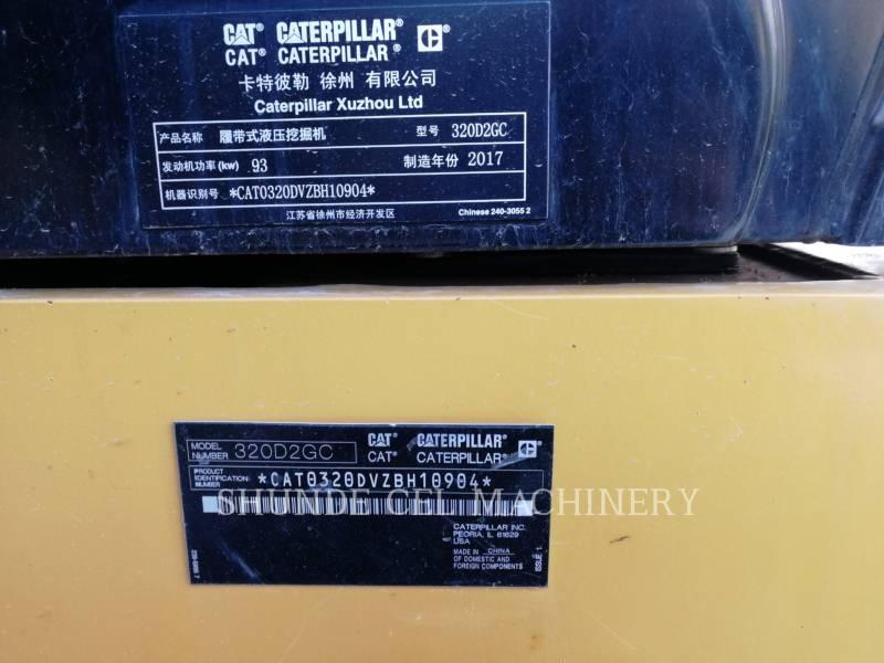 CATERPILLAR KETTEN-HYDRAULIKBAGGER 320D2GC equipment  photo 2